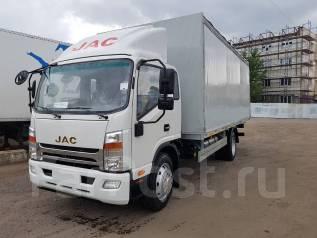 JAC N120. Тентованный грузовик , 3 760куб. см., 7 700кг., 4x2