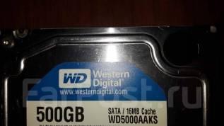 Жесткие диски 3,5 дюйма. 500Гб, интерфейс SATA-II