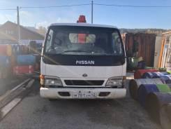 Nissan Diesel. Продаётся Nissan грузовой бортовой с манипулятором, 2 500куб. см., 1 500кг., 4x2