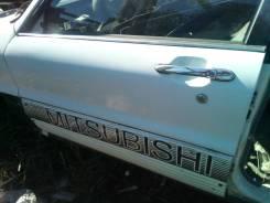 Ручка двери внешняя. Mitsubishi Galant, E33A 4G63