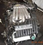 Двигатель в сборе. Mitsubishi Legnum Mitsubishi Galant Двигатель 6A13