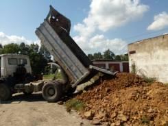 Услуги самосвала вывоз мусора хлама скала щебень чернозём