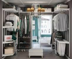 Изготовление гардеробных систем, комнат