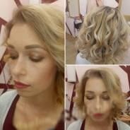 Свадебный стилист. Прическа + make up
