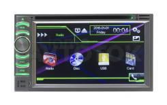Универсальная 2DIN (178х100) магнитола Windows CE 6116-S