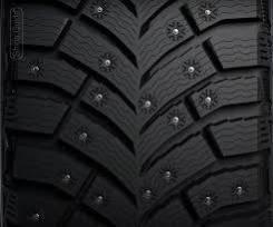 Michelin X-Ice North. Зимние, шипованные, 2018 год, без износа, 4 шт