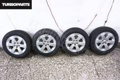 """Штатное литье Toyota Prius NHW20 + Резина Dunlop ''15 [Turboparts]. 6.0x15"""" 5x100.00 ET45"""