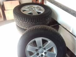 Продам комплект колес от Pajero 4. Mitsubishi Pajero, V83W, V85W, V87W, V88W, V93W, V97W, V98W Двигатели: 4M40, 4M41, 6G72, 6G74, 6G75