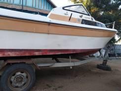 Yamaha Fish. длина 6,85м., двигатель подвесной, 115,00л.с., бензин
