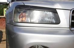 Накладка на фару. Subaru Forester, SG5, SG6, SG69, SG9 Двигатели: EJ20, EJ201, EJ205, EJ25, EJ251, EJ255