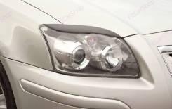 Защита фар прозрачная. Toyota Avensis, AZT250, AZT250L, AZT250W, AZT251, AZT251L, AZT251W, AZT255, AZT255W, CDT250, ZZT251, ZZT251L 1AZFSE, 1CDFTV, 1Z...