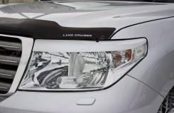 Накладка на фару. Toyota Land Cruiser, GRJ200, J200, URJ200, URJ202W, UZJ200, UZJ200W, VDJ200 Двигатели: 1GRFE, 1URFE, 1VDFTV, 2UZFE, 3URFE