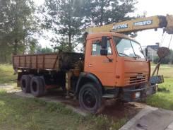 КамАЗ 53215. КМУ на базе Камаз-53215 самосвал, 10 850куб. см., 10 000кг.