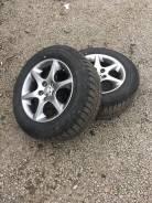 """Колеса на Дисках Toyota темный хром. x16"""" 5x114.30 ET44"""