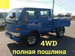 Toyota ToyoAce. 4WD, двухкабинник+борт, 3 000куб. см., 1 500кг., 4x4