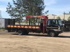 Hino Ranger. Продаётся грузовик кран борт , 7 961куб. см., 8 000кг., 4x2