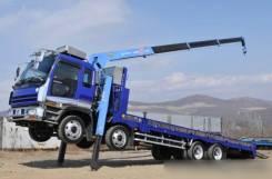 Бортовые грузовики с манипулятором 10 т