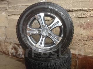 """Продаю Зимний комплект колёс на ТЛК 200. 8.5x18"""" 5x150.00 ET60 ЦО 110,0мм."""