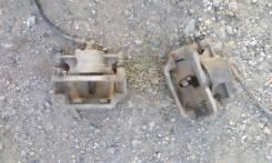 Суппорт тормозной. Toyota Carina E, ST191L Двигатель 3SFE