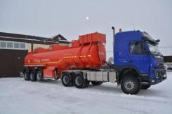 Volvo FMX13. Продам автомобиль Volvo FM Truck 6x6 с полуприцеп-цистерной, 12 777куб. см., 120 000кг., 6x6