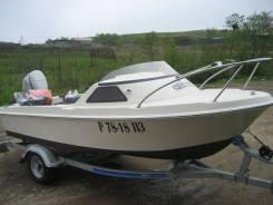 Yamaha Fish 15. 1995 год год, длина 4,50м., двигатель подвесной, 40,00л.с., бензин