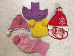 Отдам шапки женские и детские (на девочку)