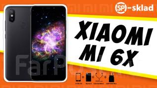 Xiaomi Mi6X. Новый, 64 Гб, 3G, 4G LTE, Dual-SIM