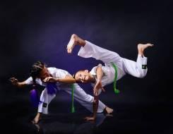 Бразильское боевое искусство Капоэйра для детей и взрослых