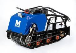 Мотобуксировщик Мужик 18,5 лс 1450 мм катки, 2018. исправен, без птс, без пробега