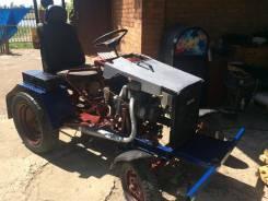 Самодельная модель. Самодельный мини трактор, 10 л.с.