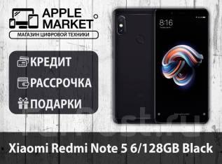 Xiaomi Redmi Note 5. Новый, 128 Гб, Черный, 3G, 4G LTE, Dual-SIM