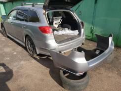 Задний бампер BR9 Subaru Legacy 57704-AJ000 цвет C6Z серебристый