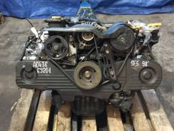 Двигатель в сборе. Subaru Forester, SF5, SG5 Subaru Legacy, BE5, BES, BH5 Subaru Impreza Двигатели: EJ201, EJ202, EJ151