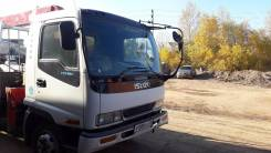 Isuzu Forward. Продается кран-борт , 8 221куб. см., 5 000кг.