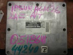 Блок управления двс. Toyota Ipsum, ACM26, ACM26W Двигатель 2AZFE