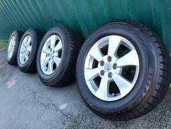 """Оригинал Toyota R16 6.5J +33 5*114.3+жирная зима Bridgestone 215/65/16. 6.5x16"""" 5x114.30 ET33 ЦО 60,1мм."""