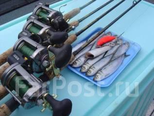 Морская рыбалка на скоростном катамаране группами от 2 до 8 человек. 15 человек, 45км/ч