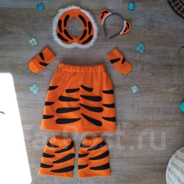 Костюм тигра для девочки Королевский тигр - Карнавальные костюмы во ... 5751bb6ae4564