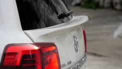 Спойлер на заднее стекло. Toyota Land Cruiser, GRJ200, J200, URJ200, URJ202, URJ202W, UZJ200, UZJ200W, VDJ200 Двигатели: 1URFE, 1VDFTV