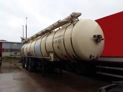 Feldbinder. 334B полуприцеп-цистерна молоковоз трехсекционная 31710 дм3, 26 520кг.