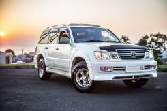 Toyota Land Cruiser Cygnus. С водителем