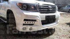 Передний бампер KHAN Toyota Land Cruiser 200 c2007-2015 г.