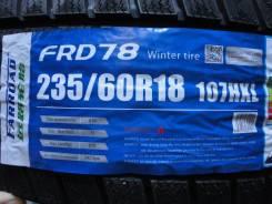 Farroad FRD78. Зимние, без шипов, 2018 год, без износа, 4 шт