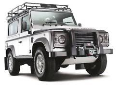 Багажник на крышу. Land Rover Defender, L316 Двигатели: LJ46G, 224DT