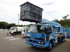 Aichi. Автовышка 22 метра на шасси Исудзу Эльф Isuzu Eif, 4 300куб. см., 22,00м.