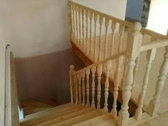 Изготовление лестниц. дверей, окон из дерева