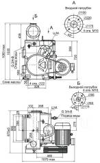 Продаётся высокопроизводительный вакуумный насос АВЗ-180