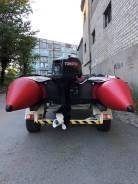 Quicksilver. 2005 год год, длина 4,30м., двигатель подвесной, 40,00л.с., бензин
