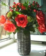 Цветы для интерьера ручной работы