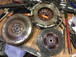 Сцепление. Subaru Forester, SG5 Двигатель EJ205
